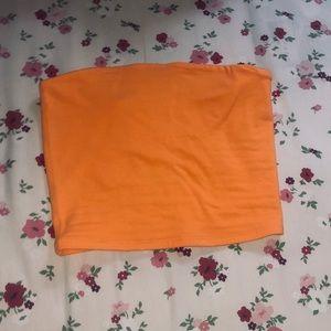 GARAGE orange tube top